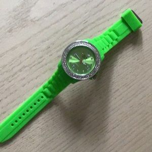 Ice watch with silicone band